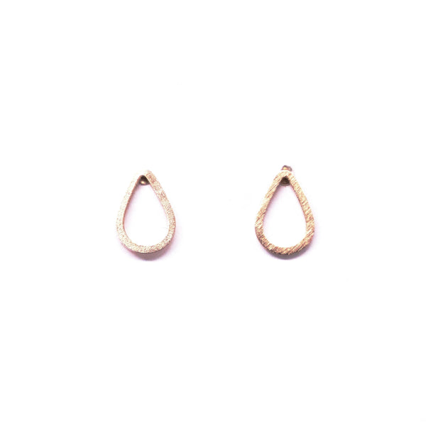 Droplets Rose Gold Earrings