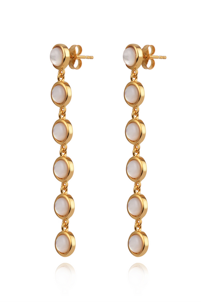 Jacks Cascade Pearls Earrings