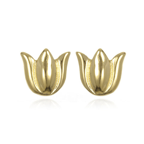 Tulip Stud Earrings