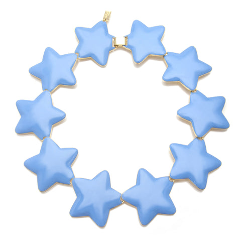 Interlocking Star Necklace
