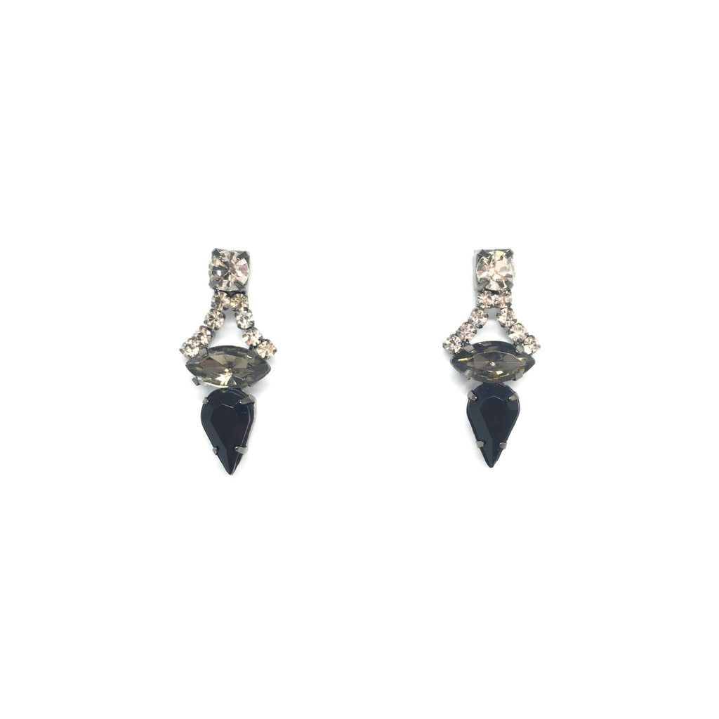 Vienna Black Earrings