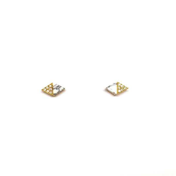 Calista Marble Earrings