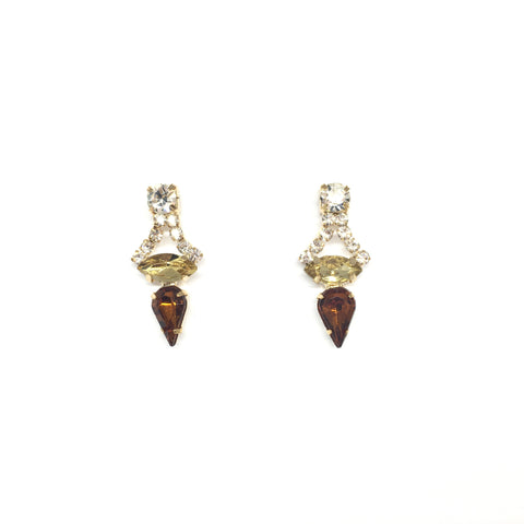 Vienna Topaz Earrings