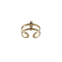 Athena Gold & Marble Ring