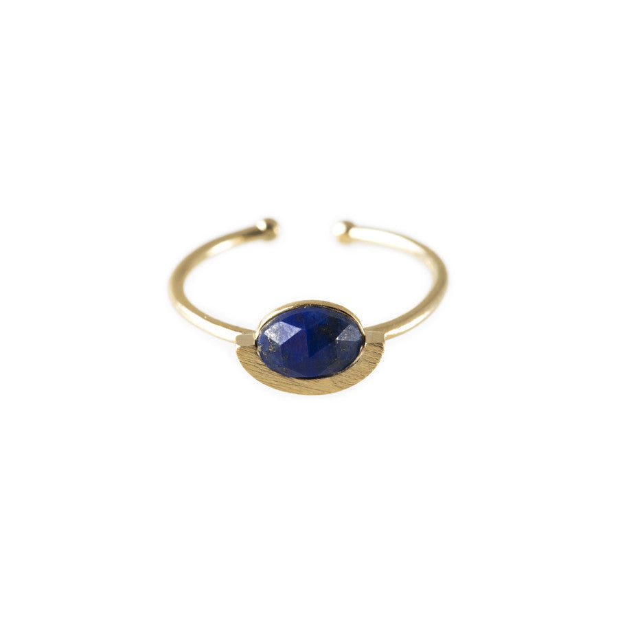 Lana Gold & Lapis Ring