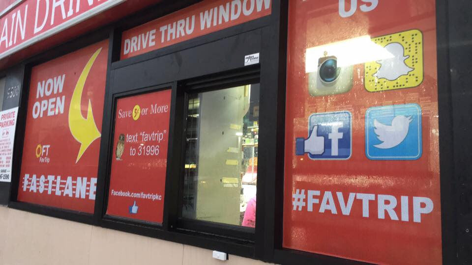 FavTrip Gas Station in Kansas City, MO Now Has a Drive-Thru