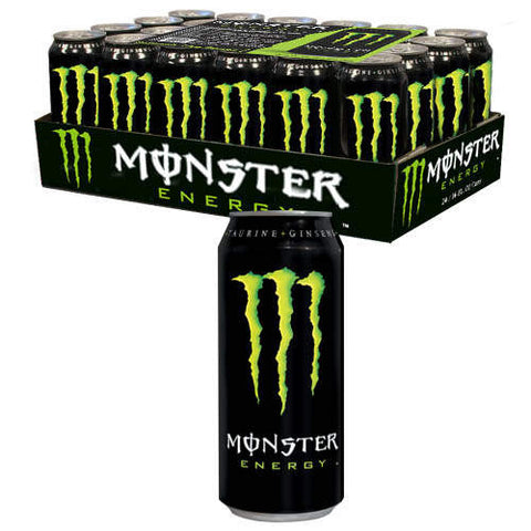 Monster Energy Drink - 16 oz. - 24 pk. Expires 2014