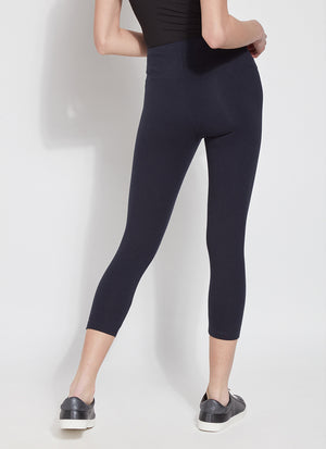 Lyssé Flattering Cotton Crop Legging