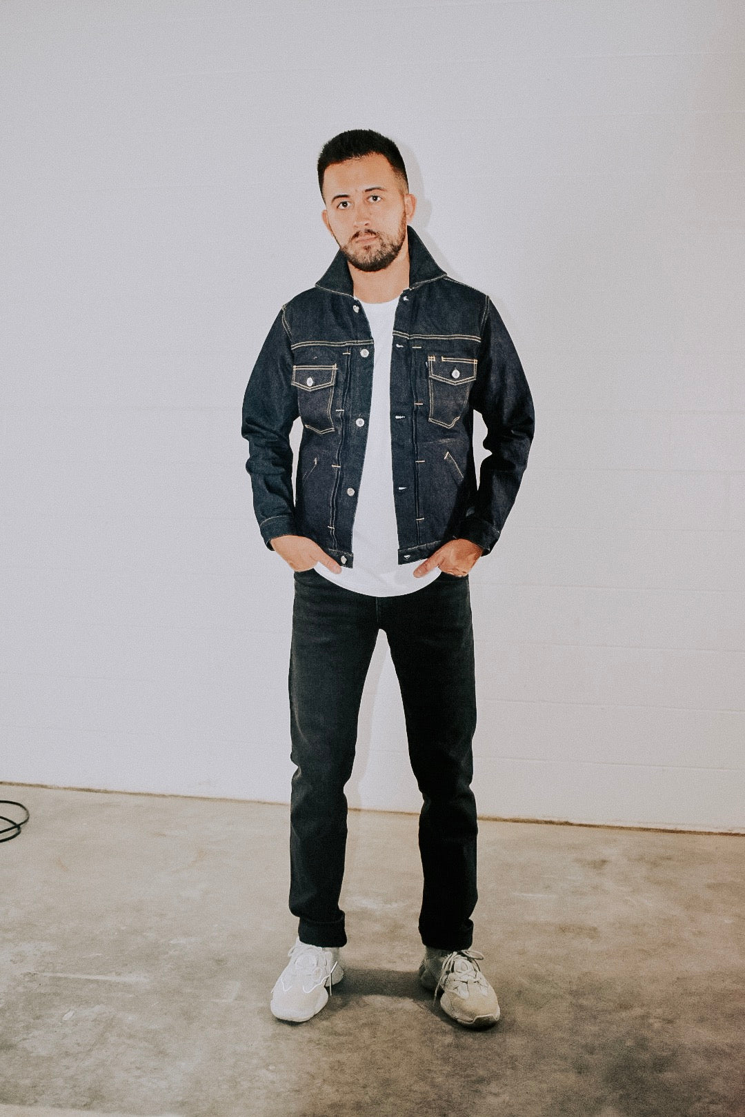 Shuttle Notes Trucker Jacket