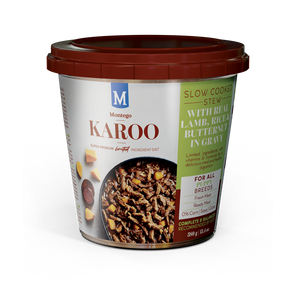 Karoo Puppy Wet Food Lamb 380g