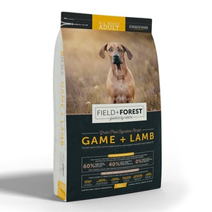 Field & Forest Adult Dog Food Game & Lamb