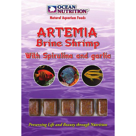 Artemia Brine Shrimp With Spirulina & Garlic