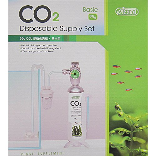 CO2 95G DISPOSABLE CARTRIDGE SUPPLY SET