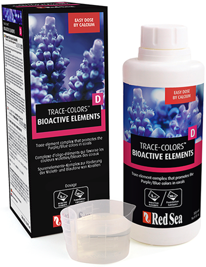 Red Sea Coral Colors D Bioactive Elements 500ml