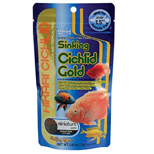 Cichlid Gold Sinking Mini Wafers