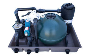 Combibox 1  (2 bag Sand Filter, 0,6 KW Pump, 15 W UV, 25 L Bio + Bio Balls)