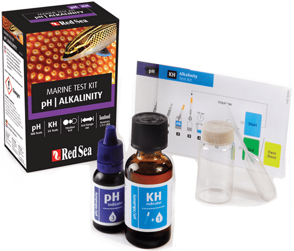 Ph/Alkalinity marine Test Kit