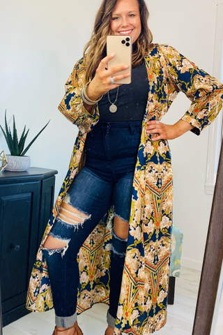 Bohemian, Long Kimono, Boho Style, Three Ways to Style Distressed Denim, Boho Pretty