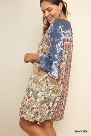 Paisley Flower Dress