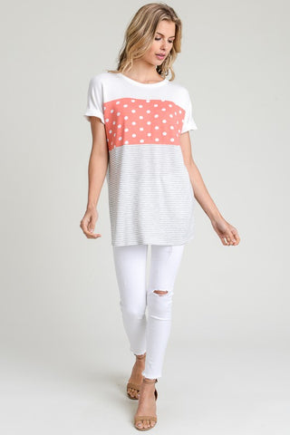 My Favorite Polka Dot Top