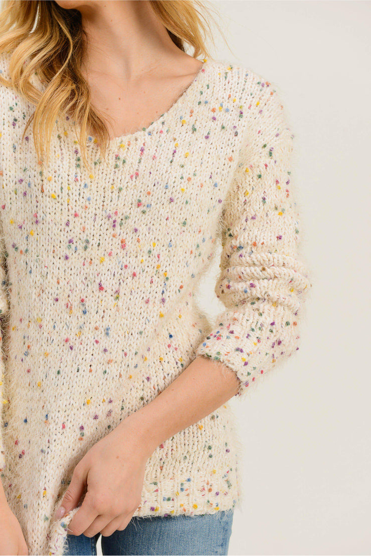 Confetti Sweater - bohopretty.com