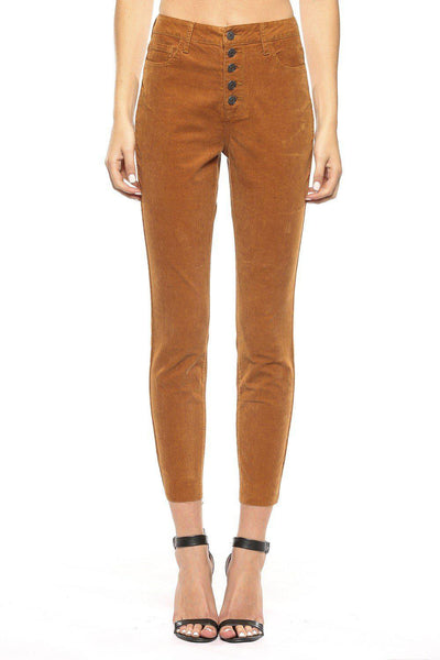 high rise corduroy pant boutique boho pretty