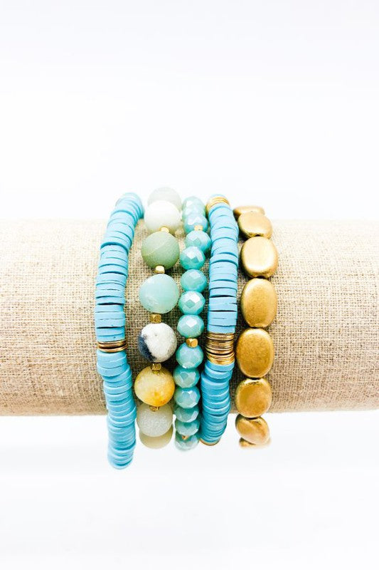Pebble Stack Bracelet