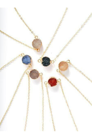 A Dash of Druzy Necklace