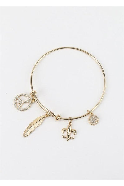 Peace Feather Bracelet