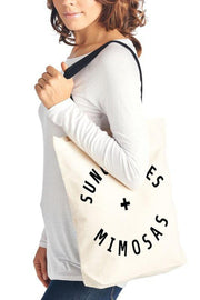 Sunglasses and Mimosas Tote