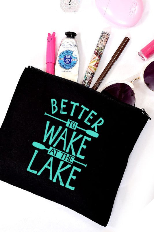 Better to Wake at the Lake Makeup Bag - bohopretty.com