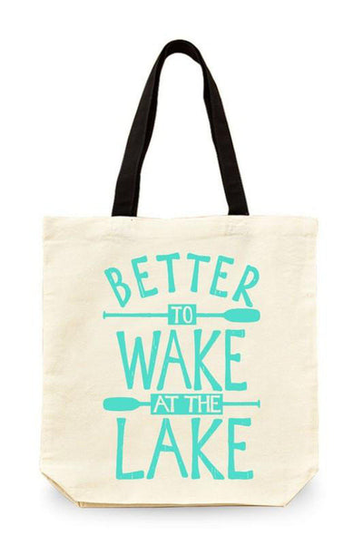 Better to Wake at the Lake Tote