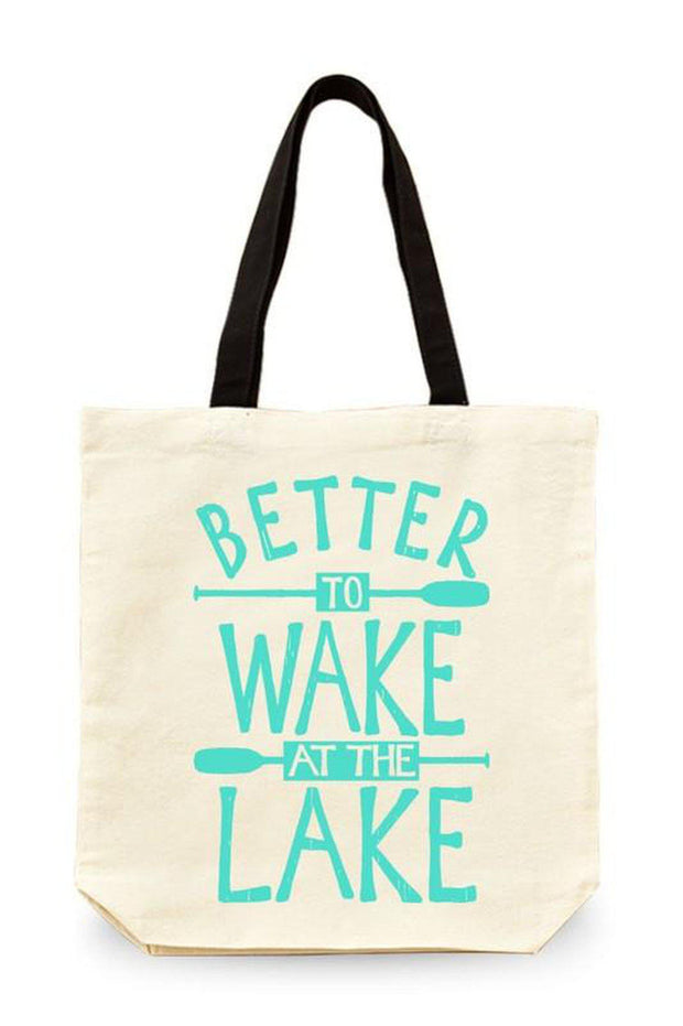Better to Wake at the Lake Tote - bohopretty.com