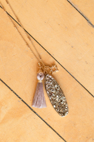 Tassels Rock Necklace
