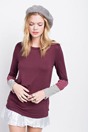 Fall Ready Top, Wine, Fashion, Sweater, Boho Pretty