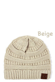 C.C. Fashion Beanie Hat, Trendy, Winter, Soft, Boho Pretty