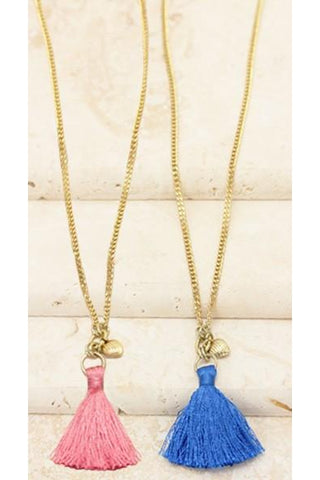 Touch of Tassel Necklace