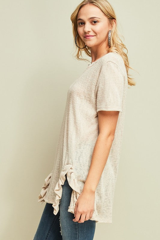 Faith Ruffled Top