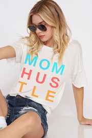 Mom Hustle Graphic Top
