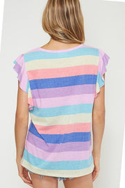 Oh Happy Stripes Top