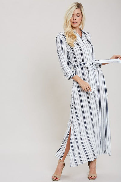 All Lined Up Dress - bohopretty.com