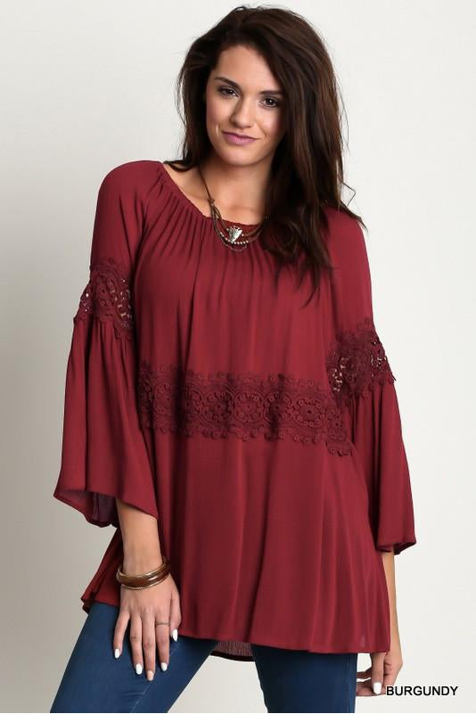 Baby, It's Cold Outside Top - Plus Size