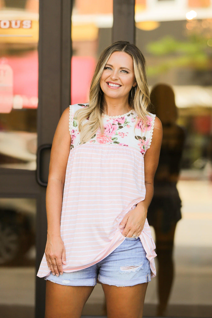 Beach Baby Top- Pink