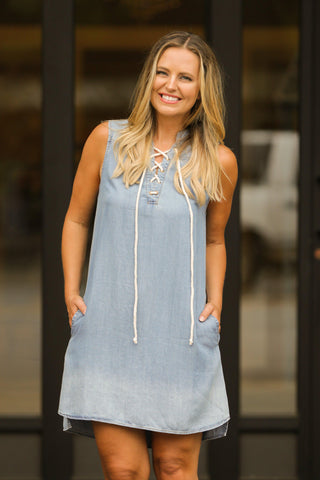 Denim Done Right Dress