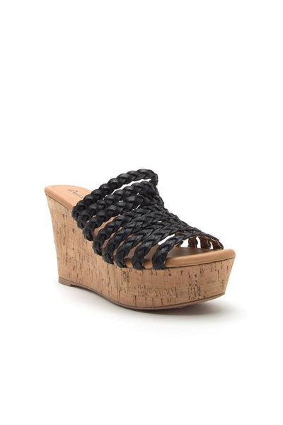 Ardor Wedge Sandal - bohopretty.com