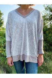 Brushed Knit Tunic Taupe womens fall winter fashion boutique boho pretty.3