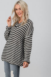 Coffee Shop Chunky Knit Sweater - bohopretty.com