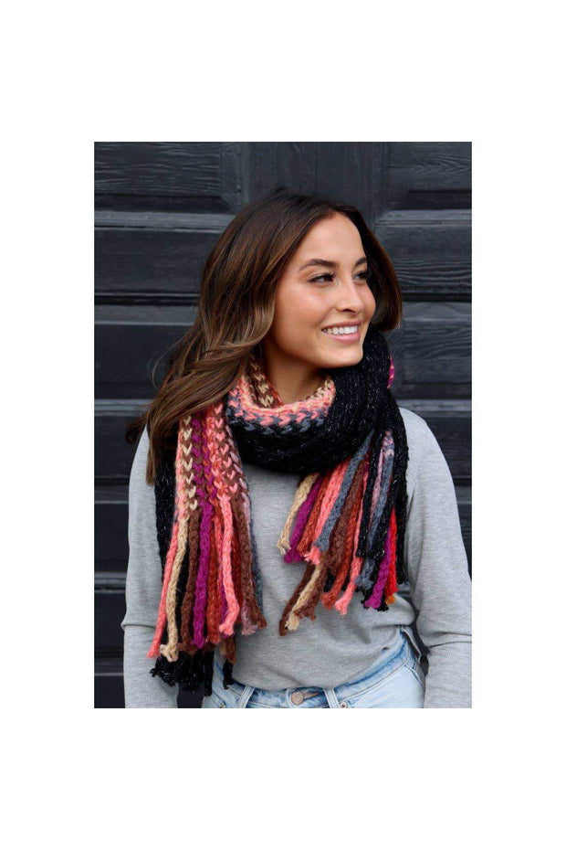 boho pretty boutique women winter scarf accessories
