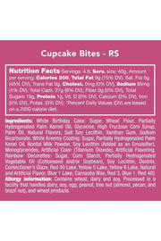 Candy Club Cupcake Bites