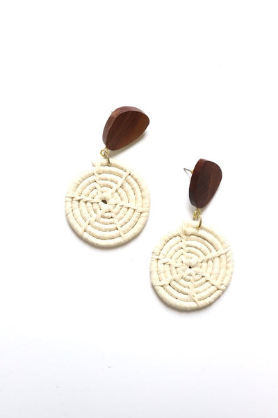 Bohemian Wicker Earrings - bohopretty.com